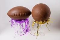 Chocolate Football and Chocolate Basketball