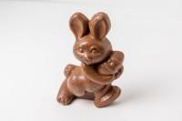 Chocolate Easter Bunny and Egg