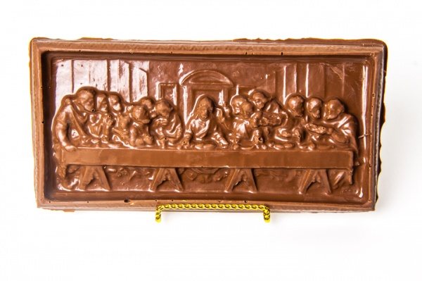 The Last Supper - Chocolate Sculpture